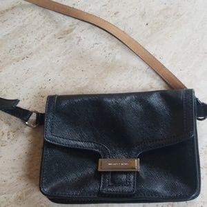 Black Michael Kors belt bag